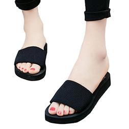 Women Summer Casual Anti-Slip Slipper, XILALU Indoor Outdoor