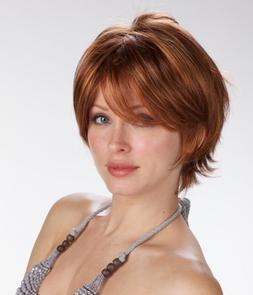 Tony of Beverly Womens Synthetic Wig ''Skylar''-Silverstone: