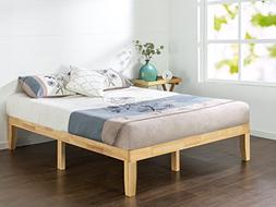Zinus 14 Inch Wood Platform Bed / No Boxspring Needed / Wood