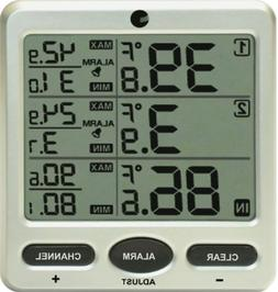 Ambient Weather WS-09-C Wireless 8-Channel Thermometer Conso