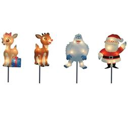 Xmas Pre Lit Lawn Stake Christmas Decoration Pathway Outdoor