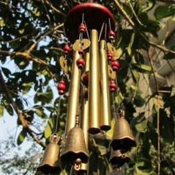 decorative wind chimes chapel hanging 6 tubes