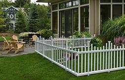 Zippity Outdoor Products ZP19001 Picket Fence, 1 x Pack of 2